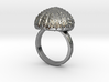 Urchin Statement Ring - US-Size 13 (22.33 mm) 3d printed
