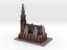 Westerkerk Amsterdam 8x4 (Western Church) 3d printed