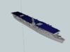 USS Independence CV 1/1800 3d printed