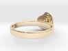 Gold Mine ring - UK Q (inside diameter 18.34mm) 3d printed