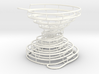 Hour-Glass Spiral Marble-Run  3d printed