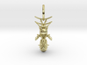 Beekeeper Jewelry Collection Queen Necklace Pendan 3d printed