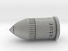 """Bullet Pendant, .75 Calibre, """"Loyalist"""" 3d printed"""