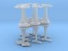 MicroFleet Cardashian Heavy Battlegroup (16pcs) 3d printed
