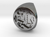 Custom Signet Ring 8 3d printed