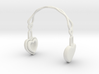 Headphones Heart Version: BJD Doll YOSD 1/6 3d printed