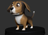 Puppies Out Beagle 3d printed Puppies Out - Beagle - 3D Render
