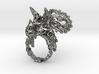 Tricera Ring (Size 7) 3d printed