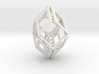 Rhombus Tessellates Collapsible In X And Y Rigid Z 3d printed