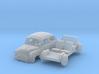 Fiat 600D (N 1:160) 3d printed