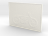 Motorcycle Lithophane 50mm 3d printed