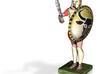 hoplite greek warrior already colored  3d printed