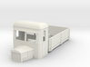 009 dropside goods railbus with bonnet 3d printed