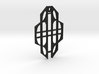 Art Deco Pendant 3d printed
