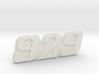 """Immortan Joe """"929"""" Codpiece Badge / Emblem 3d printed"""