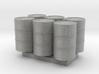 55 Gal Drum - HO 87:1 Scale Qty (6) 3d printed