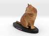 Custom Cat Figurine - Garth 3d printed