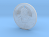 Elektro Coin Pendant 3d printed