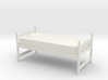 1:24 Twin Dorm Bed 3d printed