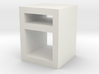 1:48 Simple Bedside Table 3d printed