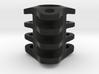Triple Tritium Bead 3 (2x12mm Vials) 3d printed