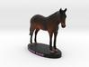 Custom Horse Figurine - Katie 3d printed