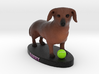 Custom Dog Figurine - Barry 3d printed