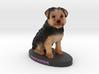 Custom Dog Figurine - Snickers 3d printed