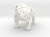 Voronoi Bulldog 3d printed Voronoi Bulldog