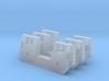 RTA/Metra F40PH Plow (N - 1:160) 3X 3d printed