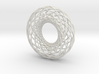 Twisted strip torus,large 3d printed