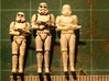 Stormtrooper in position of Attention 3d printed 1st, 2nd, Final :)