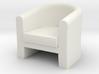 1:48 Tub Chair 3d printed