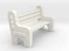 Street Bench 'O' 48:1 Scale 3d printed
