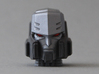 Megatron head Mtmte 3d printed Sample with Mr.color spray and Citadel paints