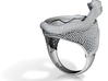 Snake Ring jewelry 3d printed