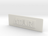 Atari Coin Door Tag (Standard) 3d printed
