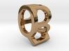 Two way letter pendant - BQ QB 3d printed
