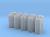 1-24 US Jerrycan 5 Units FUD 3d printed