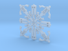 Doctor Who: Fourth Doctor Snowflake 3d printed