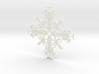 Hawaii Snowflake 3d printed