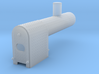 Tractor Boiler, HO scale 3d printed