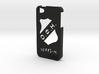 Iphone 5/5s  case OFI and logo 3d printed