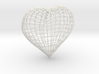 Love heart 3d printed