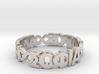 """Ring """"Agape Sofia Kairos"""" Size 10.5 3d printed"""