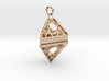 Customizable Keychain/Pendant 3d printed