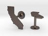 California State Cufflinks 3d printed