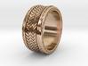 Herringbone RING SIZE 9.5 3d printed