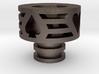 Trump Driptip Heat Sink: Stainless Steel 3d printed