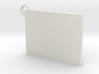 Flag Keychain  3d printed